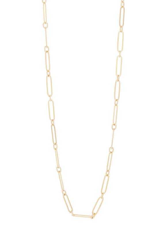 Caroline Ellen 20K Yellow Gold Link Necklace