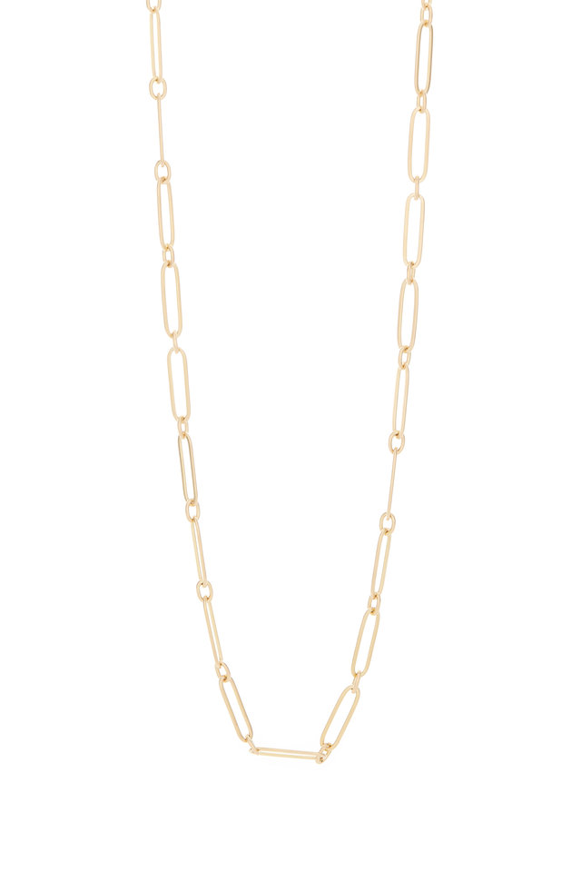 20K Yellow Gold Link Necklace