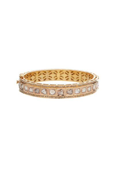 Loren Jewels - 18K Yellow Gold Diamond Bracelet