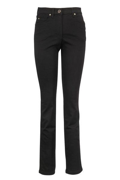 Escada - Black Five Pocket Jean