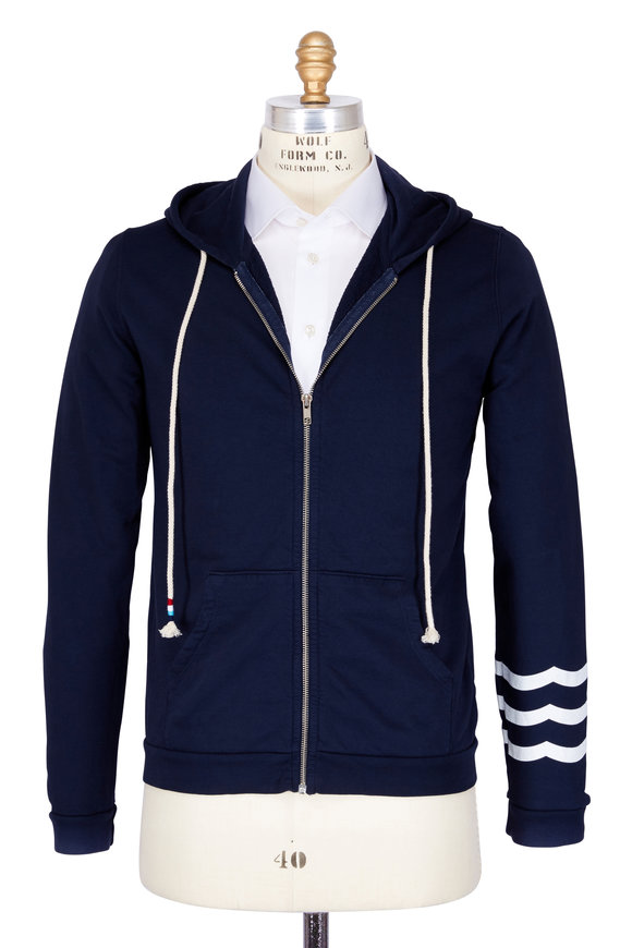 Sol Angeles Essential Indigo Cotton Hoodie