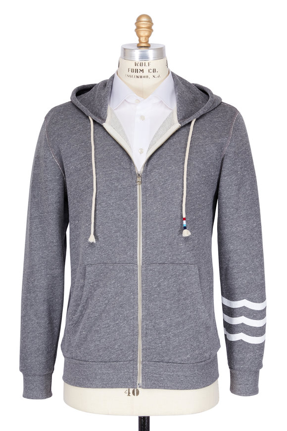 Sol Angeles Essential Heather Grey Cotton Hoodie