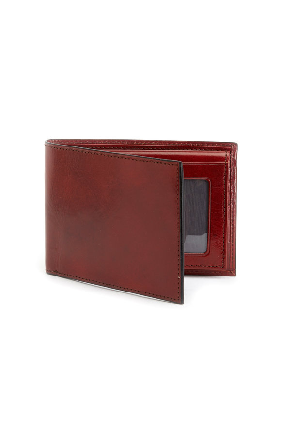 Bosca Brown Leather Wallet