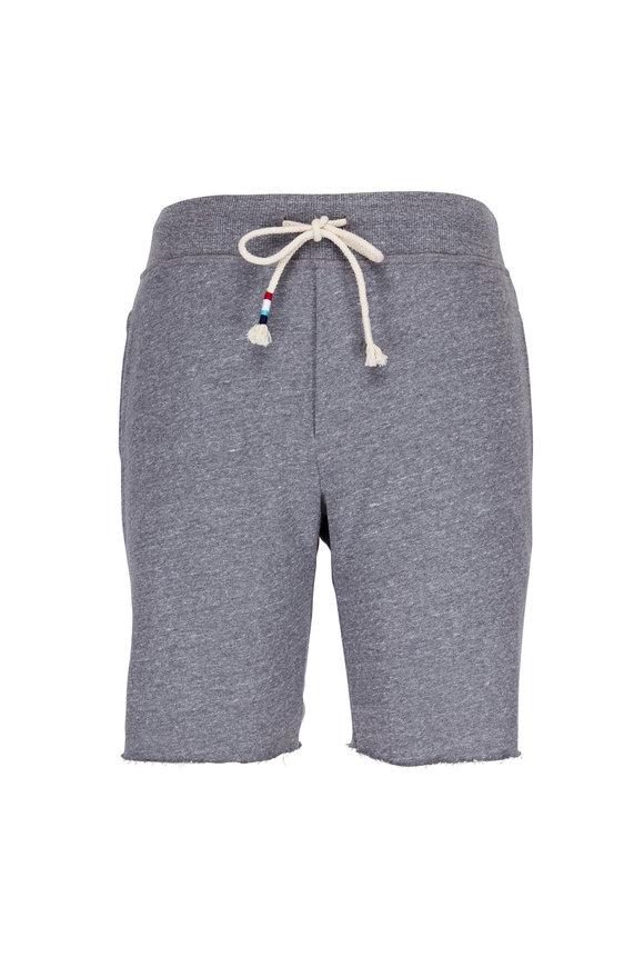 Sol Angeles Essential Heather Grey Drawstring Shorts