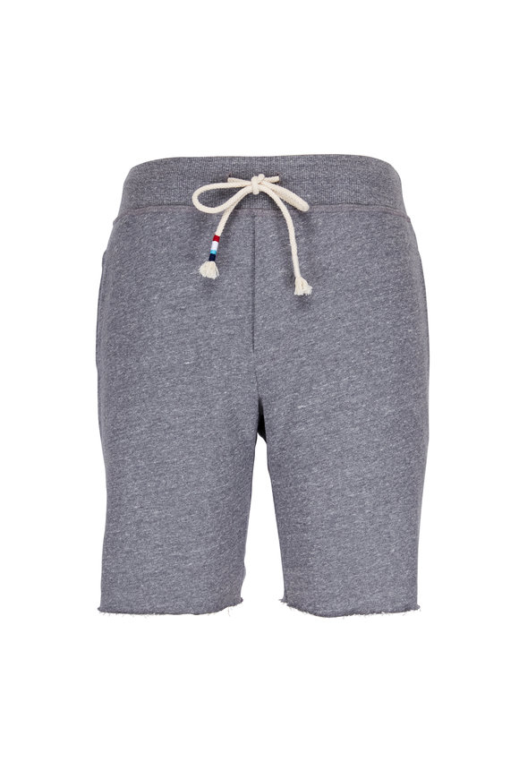 Sol Angeles Essential Heather Grey Drawstring Shorts