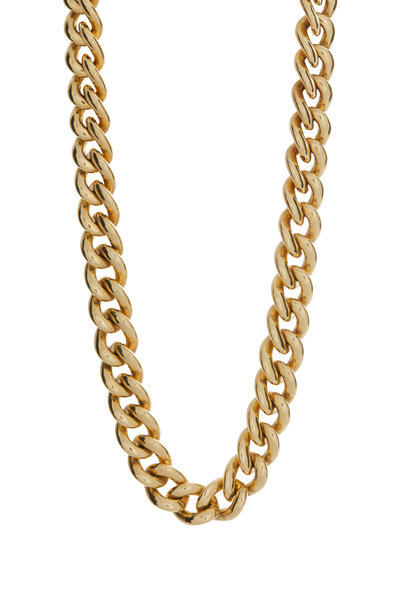 Windsor Jewelers - 18K Yellow Gold Curb Link Necklace