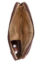 Moore & Giles - Dark Brown Titan Milled Leather Tablet Pocket