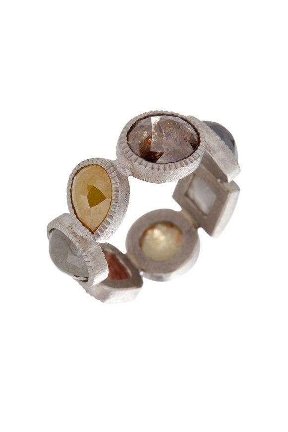 Todd Reed Palladium Diamond Ring