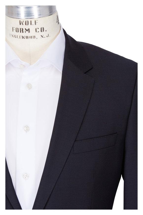 Boss Hugo Boss Huge Genius Black Wool Suit