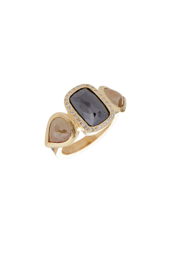 Todd Reed 18K Yellow Gold Diamond Ring