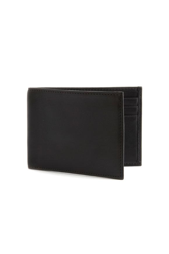 Bosca Black Nappa Leather Small Wallet