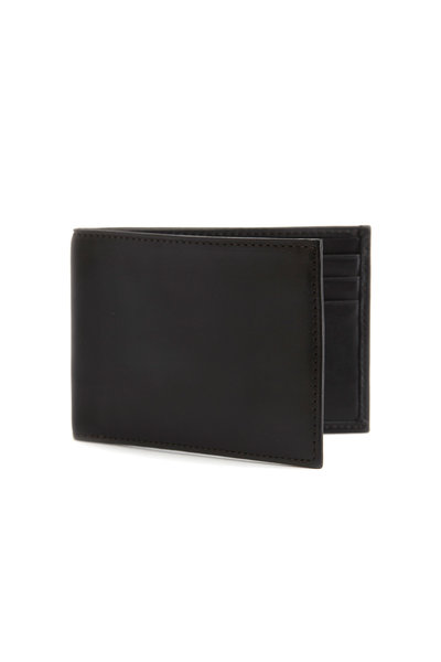 Bosca - Black Nappa Leather Small Wallet