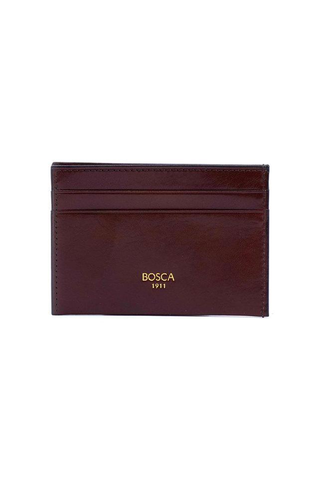 Dark Brown Leather Weekend Wallet