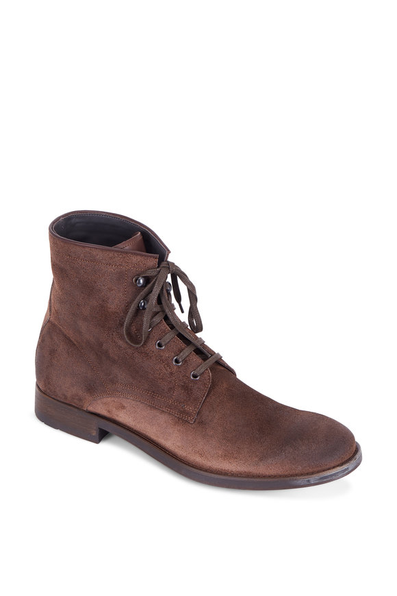 To Boot New York Astoria Bronx Brown Suede Boot