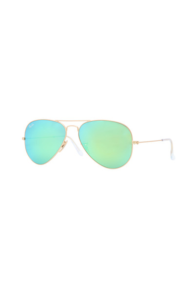 Luxottica - Sally Ray Ban Matte Gold Sunglasses