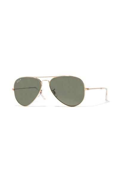 Luxottica - Ray Ban Aviator Gold Sunglasses