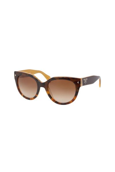 Luxottica - Carla Prada Tortoise Color Sunglasses