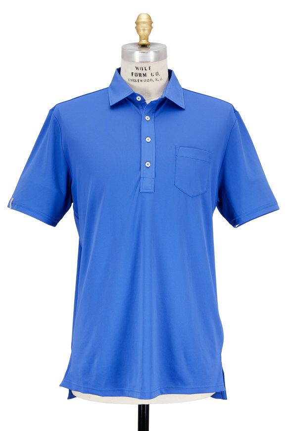 Polo Ralph Lauren Royal Blue Tech Pocket Polo