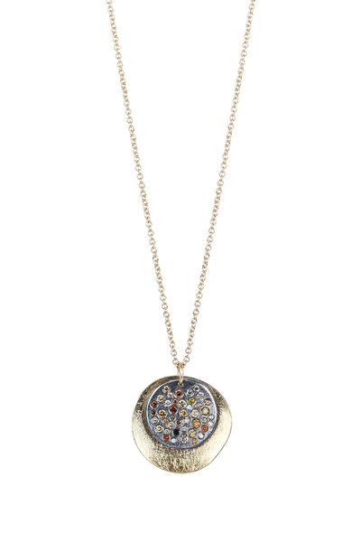 Todd Reed - 18K Yellow Gold Circle Pendant Necklace
