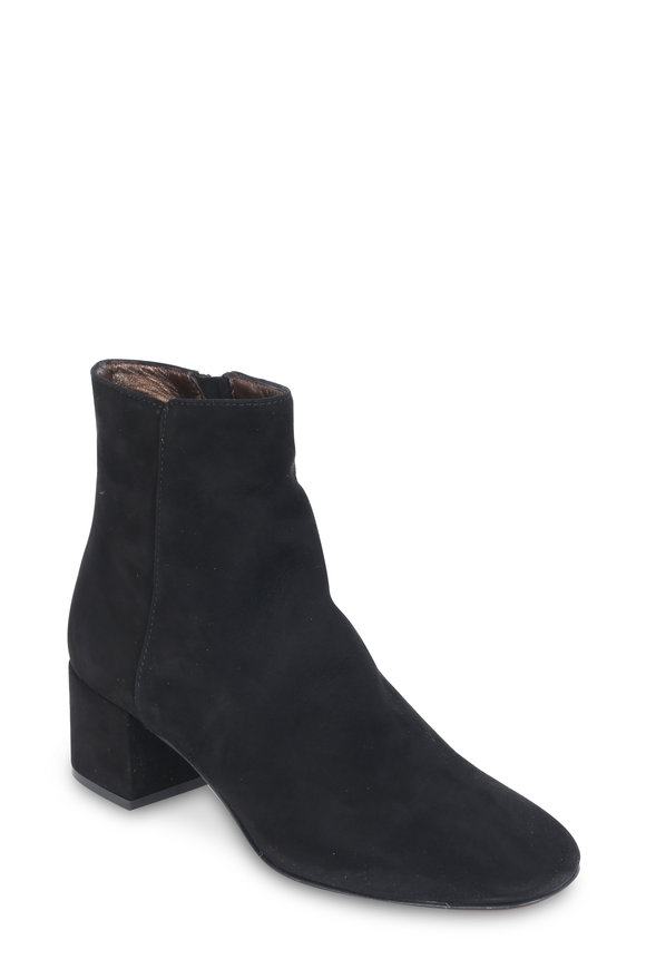 AGL Black Suede Ankle Boot, 50mm