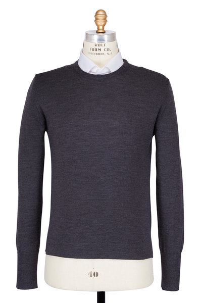 Officine Generale - Nina Grey Merino Wool Sweater