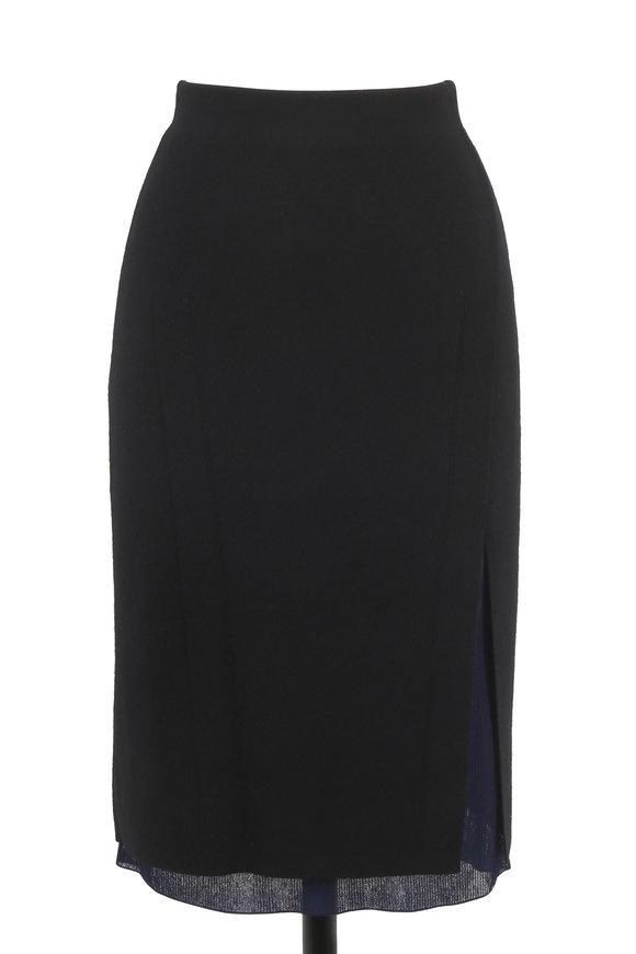 Rag & Bone Alyssa Black Sweater Skirt