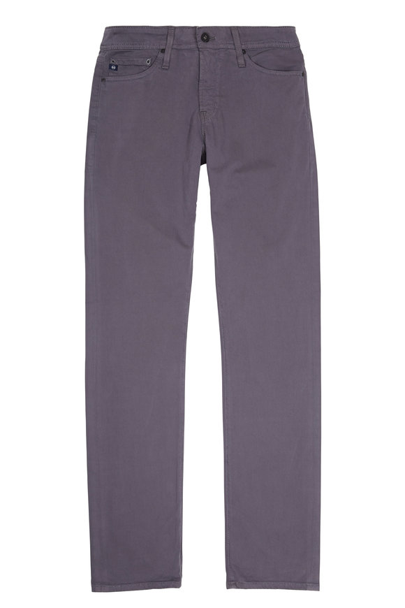 AG - Adriano Goldschmied The Graduate Gray Brushed Twill Jean
