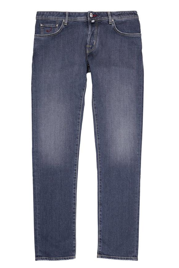 Jacob Cohen  Indigo Medium Rinse Regular Fit Jean