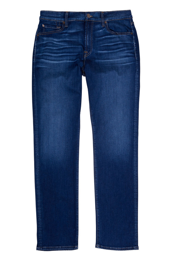 7 For All Mankind Luxe Sport Slimmy Slim Clean Pocket Jean