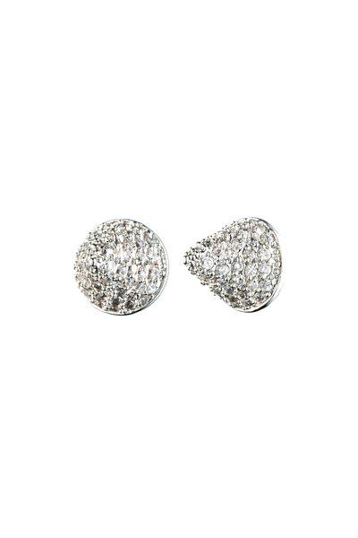 Eddie Borgo - Small Cone Pave Earrings