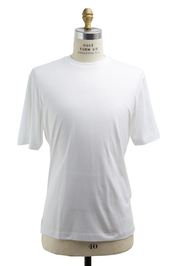 Left Coast Tee White Cotton T-Shirt