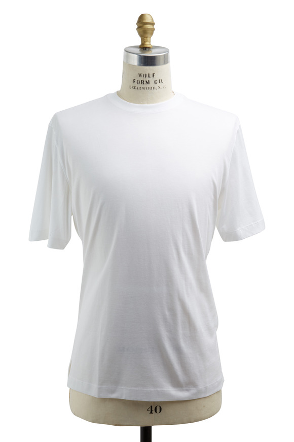 Left Coast Tee White Cotton T-Shirt
