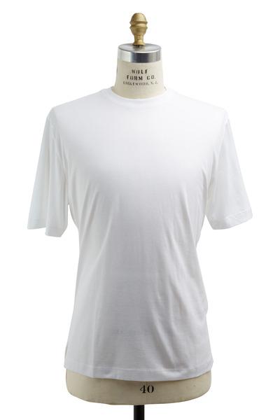 Left Coast Tee - White Cotton T-Shirt