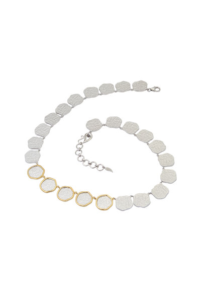 Coomi - 20K Gold & Silver Diamond Serenity Necklace