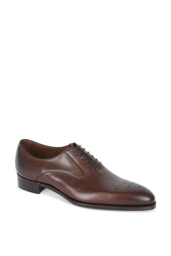 Gaziano & Girling Strand Oak Leather Oxford