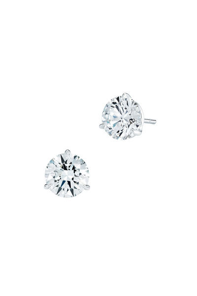 Kwiat - Platinum Diamond Studs