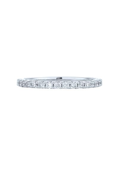 Kwiat - White Gold Stack Diamond Ring