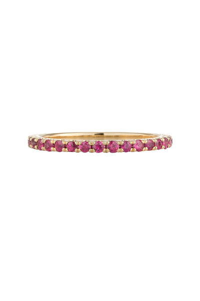 Kwiat - Yellow Gold Stack Ruby Ring
