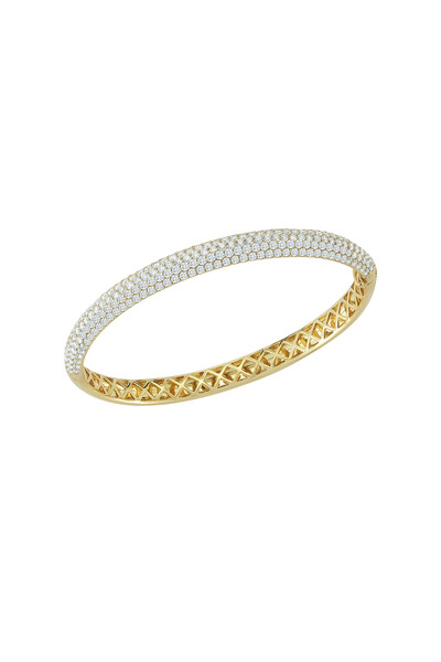 Kwiat - 18K Yellow Gold Diamond Bangle