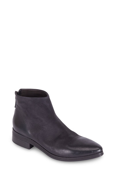 Marsell - Black Suede Western Ankle Boot