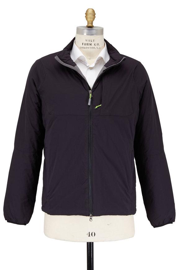 Peter Millar Bozeman Black Nylon Puffer Jacket