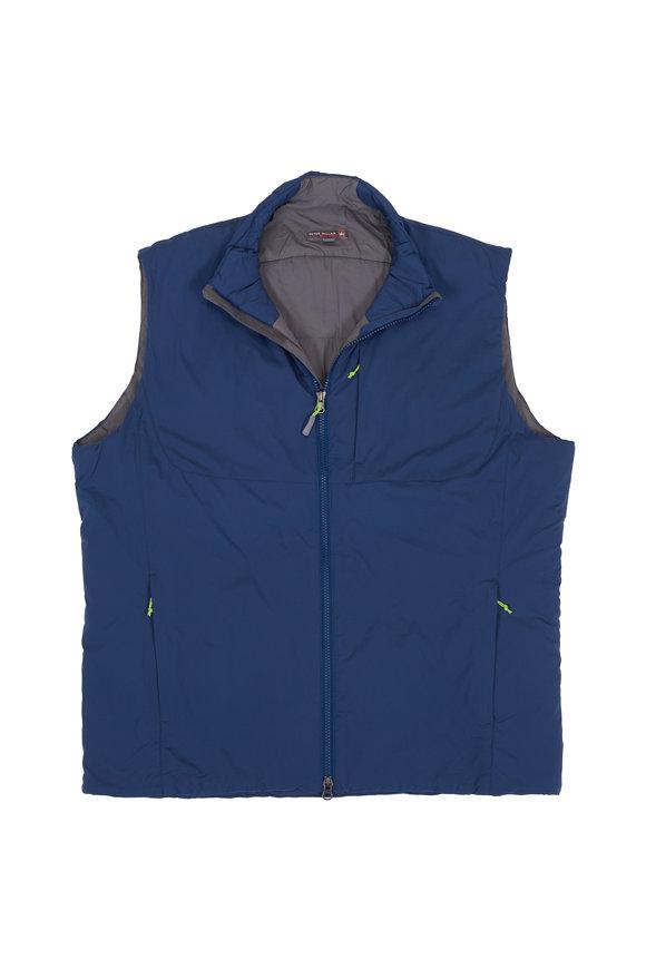 Peter Millar Midnight Blue Puffer Performance Vest