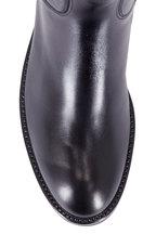 Gravati - Black Leather Riding Boot