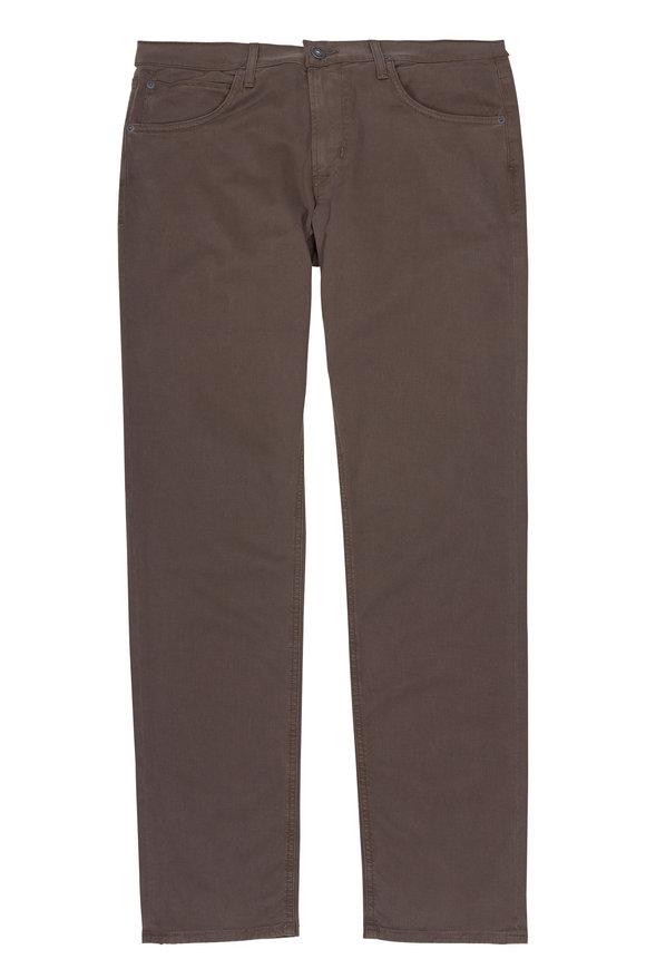Hudson Clothing Blake Plaster Olive Green Five-Pocket Pant