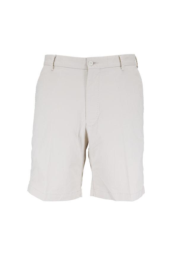 Peter Millar Stone Soft Wash Stretch Twill Shorts