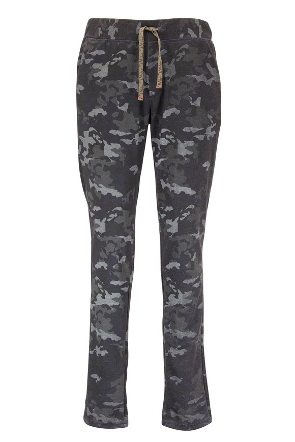 Benson  Military Green Camouflage Jogger