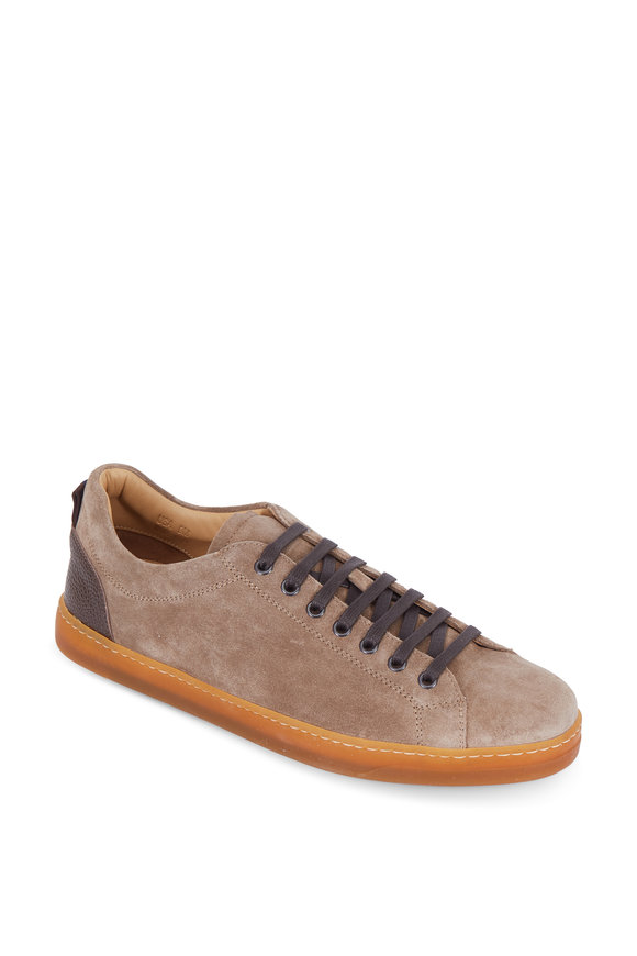 George Brown Baldwin Light Brown Suede Sneaker