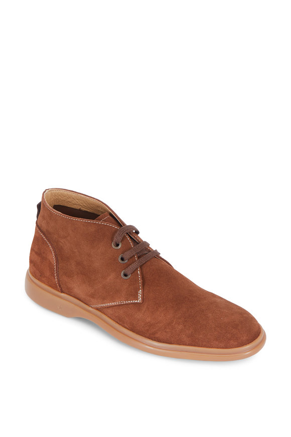 George Brown Foster Amber Brown Suede Chukka Boot