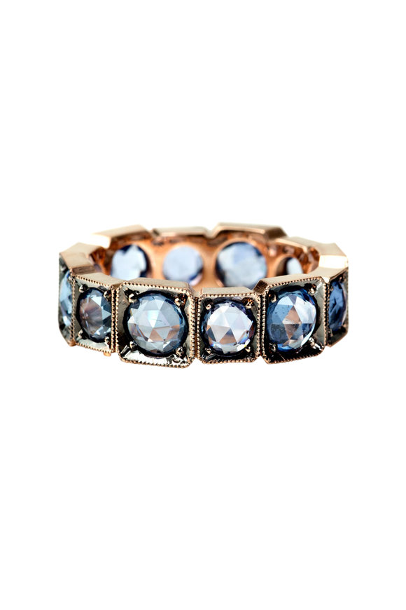 Sylva & Cie 14K Rose Gold Sapphire  Ring