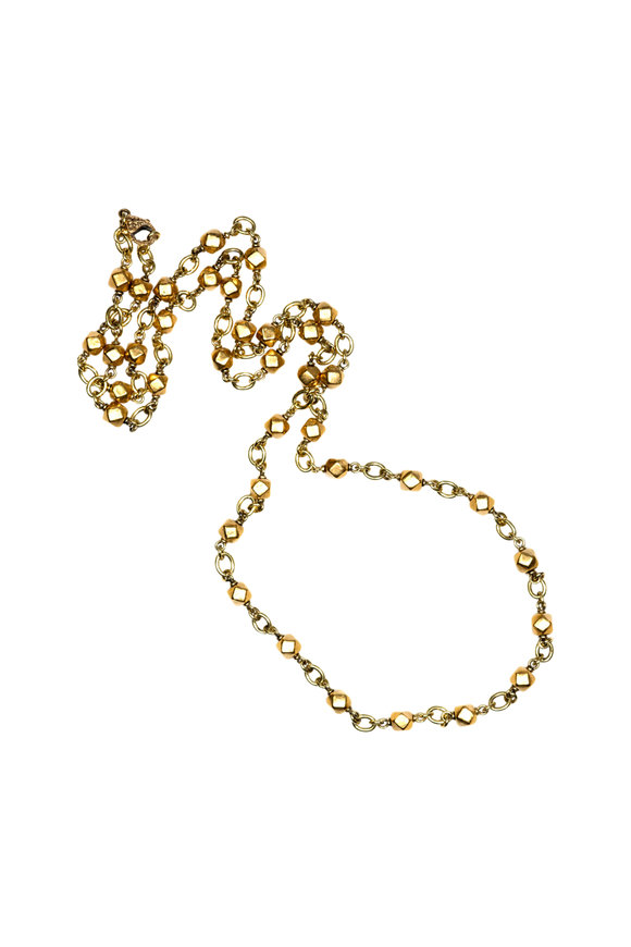 Sylva & Cie 18K Yellow Gold Chain Necklace